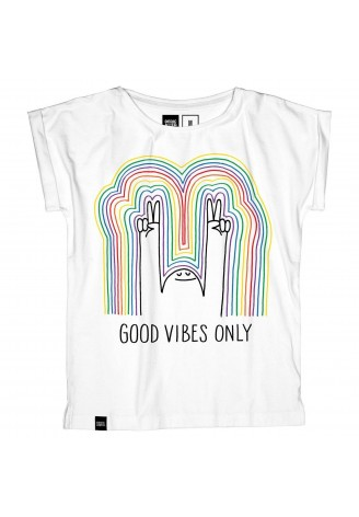 Dedicated T-shirt Visby Rainbow Vibes