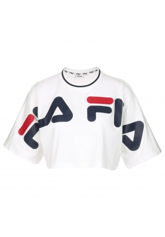 Fila Women Barr Cropped Tee
