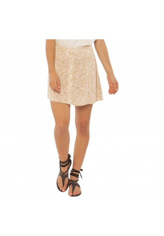 Sisstrevolution Sandy Wvn Skirt-Tau
