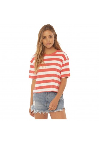 Sisstrevolution Nautical Times Ss Knit Tee-Cay